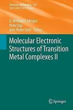 Molecular Electronic Structures of Transition Metal Complexes II (Structure and