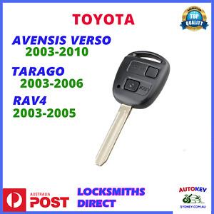 TOYOTA TARAGO RAV4 AVENSIS REMOTE KEY 2003 2004 2005 2006 2007 2008