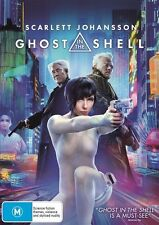 Ghost In The Shell (DVD, 2017) Brand New Sealed Region 4 - Scarlett Johansson