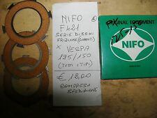 NIFO F421 SERIE DISCHI FRIZIONE GUARNITI PIAGGIO VESPA 125/150