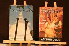 2 GUIDES SUR CEYLON.