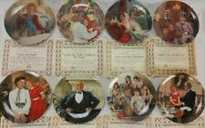 Complete Set of 8 The Annie Collector'S Plate Series, Mint In Box
