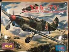 Icm 1/48 Scale Yak-7v Wwii Trainer Aircraft