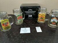 Jack Daniel's Antique Label Mason Jar Set only set on eBay, RARE original owner