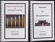 Preparation-Match Ammunition-Black Powder Cartridge Rifles &  Rumination casting