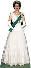 THE QUEEN Elizabeth II 2nd LIFESIZE CARDBOARD CUTOUT STANDEE STANDUP Coronation