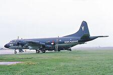 ORIGINAL COLOUR SLIDE OF P-3C ORION - NETHERLANDS NAVY