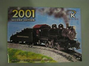K-Line Catalog 2001 - Second Edition