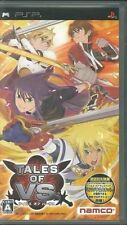Used PSP Tales of VS Versus NAMCO SONY PLAYSTATION JAPAN IMPORT