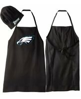 NFL Philadelphia Eagles Barbecue Tailgating Apron & Chef's Hat