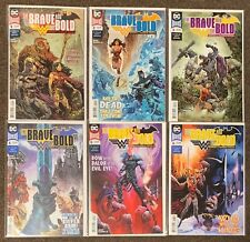 The Brave and The Bold Batman and Wonder Woman #1,2,3,4,5,6 DC Complete Set lot
