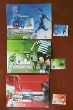 """PORTUGAL 3 SETS OF S/S + STAMPS """"FOOTBALL"""" 2005 ** MNH"""