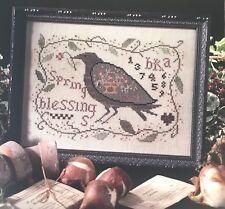 Spring Blessings Sampler Blackbird Designs Cross Stitch Pattern