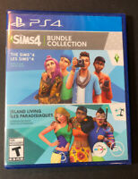 The Sims 4 Bundle Collection [ Sims 4 + Island Living Expansion Pack ] (PS4) NEW