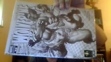 wolverine 53 june 2007  marvel comics  nm  variant B&W cover and inside art