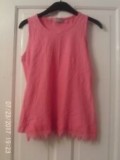 PINK SLEEVELESS TOP AGED 13