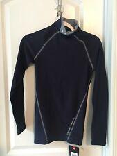 Nwt Men's Under Armour Sz S Compression Fit Mock Turtleneck Shirt Long Sleeve