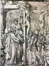 Holbein Hans (1497-1543) La passion Christ crucifixion Lièvre 1879 pointe sèche