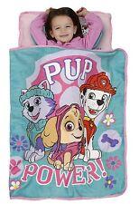 Paw Patrol Skye Toddler Nap Mat Pink w/ Attached Blanket & Pillow Free Shipping