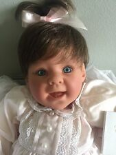 "Lee middleton doll Reva Schick signature Rare ""Baby's First Tooth"" New In Box"