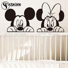Cartoon Mickey Minnie Mouse Vinyl Wall Sticker Decal Kids Baby Room Nursery Home