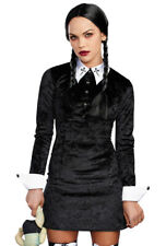 Dreamgirl adult Wednesday Adams dress costume