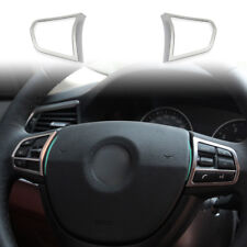 Fit For BMW 5 Series F10 520 528 535 535-Steering Wheel Switch frame Trim*2