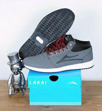 Lakai Footwear Skate Schuhe Shoes Griffin Mid WT Allweather Grey Nubuck 9/42,5
