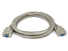 10ft - Serial DB9 Female to Female Molded Cable - Canada
