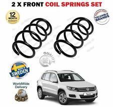 FOR VW TIGUAN + 4MOTION 1.4 2.0 TDI TSI TFSI 2007--> 2X FRONT COIL SPRINGS SET