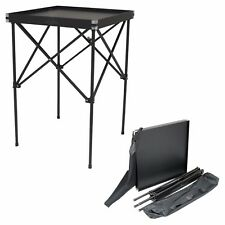 HIKER Professional Makeup Organizer Table in Black Smooth