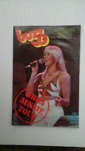 ABBA Buzz Vol 1 No 3 ABBA Australian Tour Souvenir Edition.