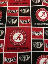University Of Alabama Crimson Tide On Squares Valance