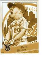 Pete Alonso 2020 Topps Big League Star Caricature Reproductions 5x7 Gold #SC-PA