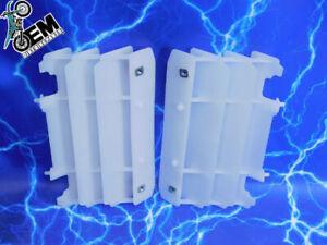 Yamaha OEM Radiator Louver Plastic Cover Guard Stock Grille Body Set Yz125 Yz250