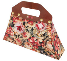 MARY POPPINS BAG FLORAL CARDBOARD PROP COSTUME OUTFIT ACCESSORY CARPET HANDBAG