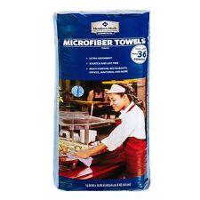 Member's Mark Microfiber Towels, Assorted Colors 36 Ct NEW BLUE