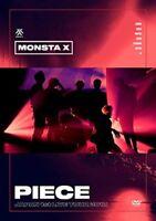 New MONSTA X JAPAN 1st LIVE TOUR 2018 PIECE DVD Japan UMBE-1002 4988031299180