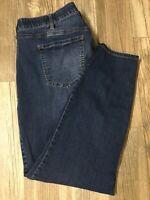 Torrid Women's Sky High Ankle Skinny Denim Jeans Size 24R (40x27) Stretch EUC D5