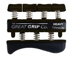 The GREAT GRIP™  Black, Heavy - 9 lbs resistance per finger, LIFETIME WARRANTY