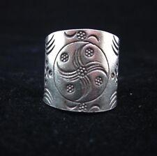 Fine Silver Rings THAI HANDMADE KAREN HILL TRIBE Windmill Wheels solid pure R71