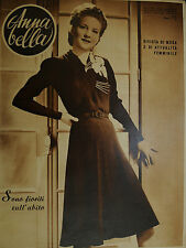 """* Anna Bella Nº 20/14/mag/1940 """"are all in bloom on"""" dress"""