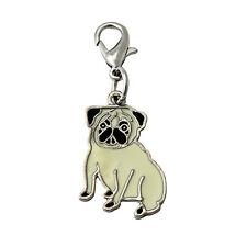 Mops Anhänger für Kette, Schlüsselbund, Armband etc. Hunde Schmuck