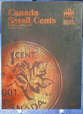 Whitman Canada Small Cents #2, 1989-2012 Coin Folder, Album Book #4049