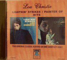 LOU CHRISTIE 'Lightnin' Strikes/Painter of Hits' - 2 LPs on 1 CD