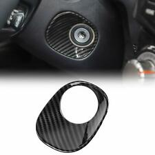 Carbon Fiber Car Ignition Switch Lock Trim Cover Bezel for Toyota 4runner 2010+
