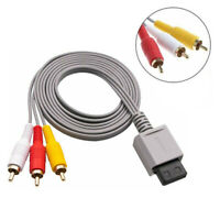 Audio Video AV Composite 3 Component RCA Cable Cord Plug For Nintendo N_N