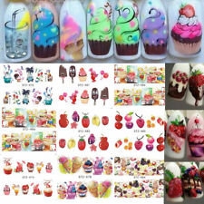 Cream Fruit Nail Sticker Nail Art Tool  Manicure Decal Water Transfer Stickers
