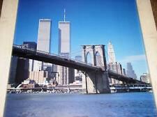 TWIN TOWERS World Trade Center WTC PRE 9/11 NEW YORK BROOKLYN BRIDGE NYC