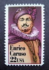 Sc # 2250 ~ 22 cent Enrico Caruso (cg27)